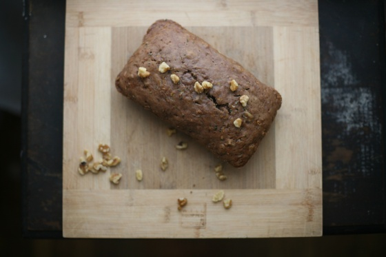 zucchini bread ++ the pear and plum