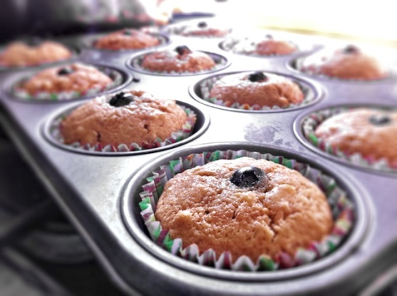Brown Sugar Coconut Cupcakes ++ the pear and plum
