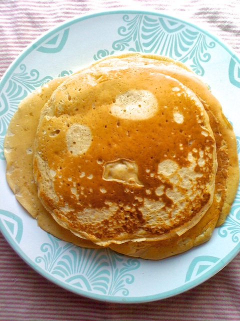 Apple Carrot Pancakes ++ the pear and plum