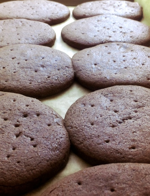 Ice Cream Cookies ++ the pear and plum